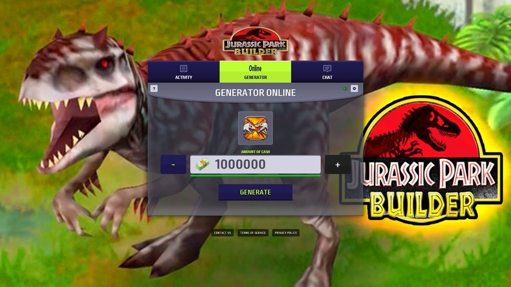 low priced 5092e e40f2 Jurassic Park Builder Hack Cheats! 100% Legit  2018 Working  Bucks, Coins,  Meat and Herbs online tool Jurassic Park Builder Hack and Cheats Jurassic  Park ...