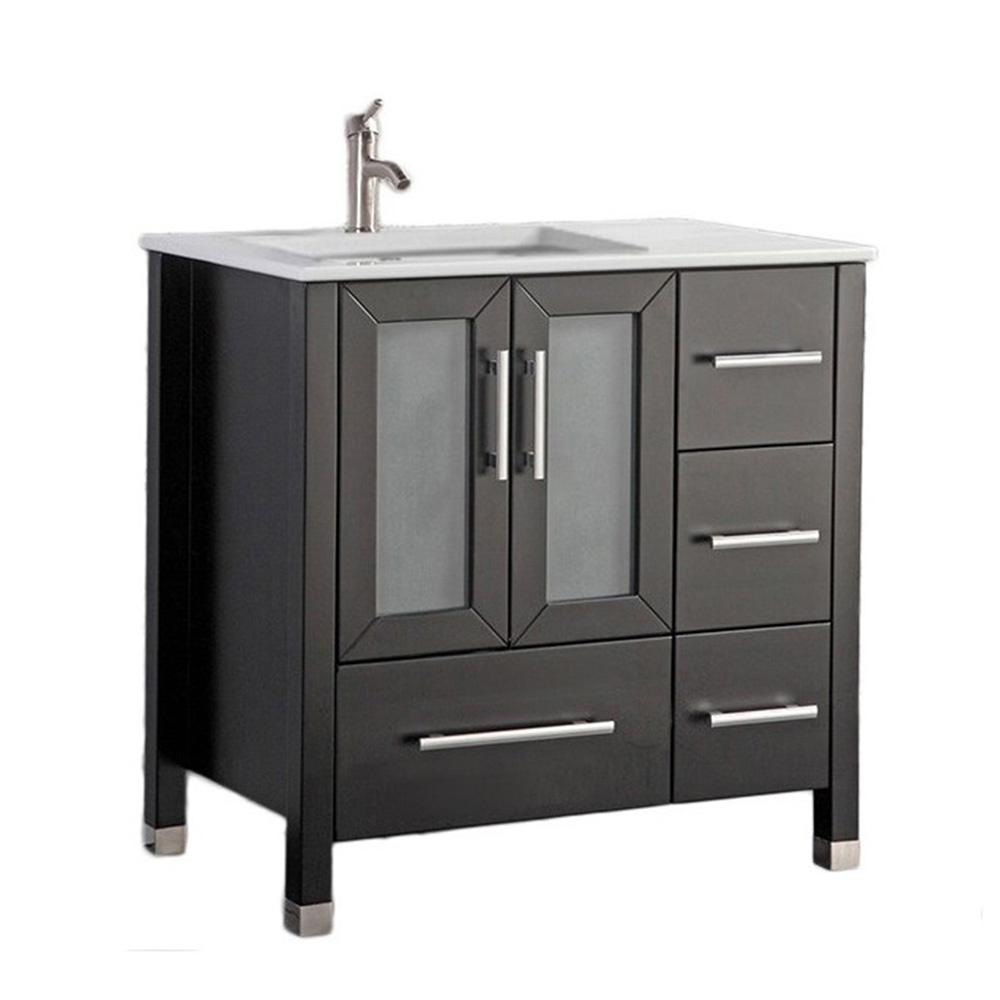 19+ Solid wood bathroom vanity set custom
