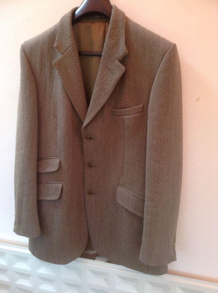 Mens John G Hardy Keepers Tweed Hacking Jacket 40L | eBay