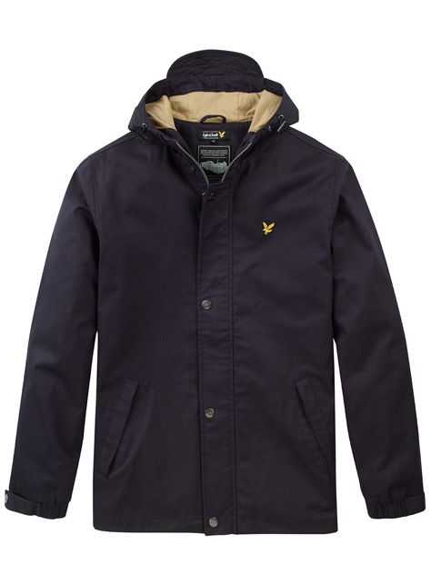 Lyle and ScottTwill Hooded Jacket