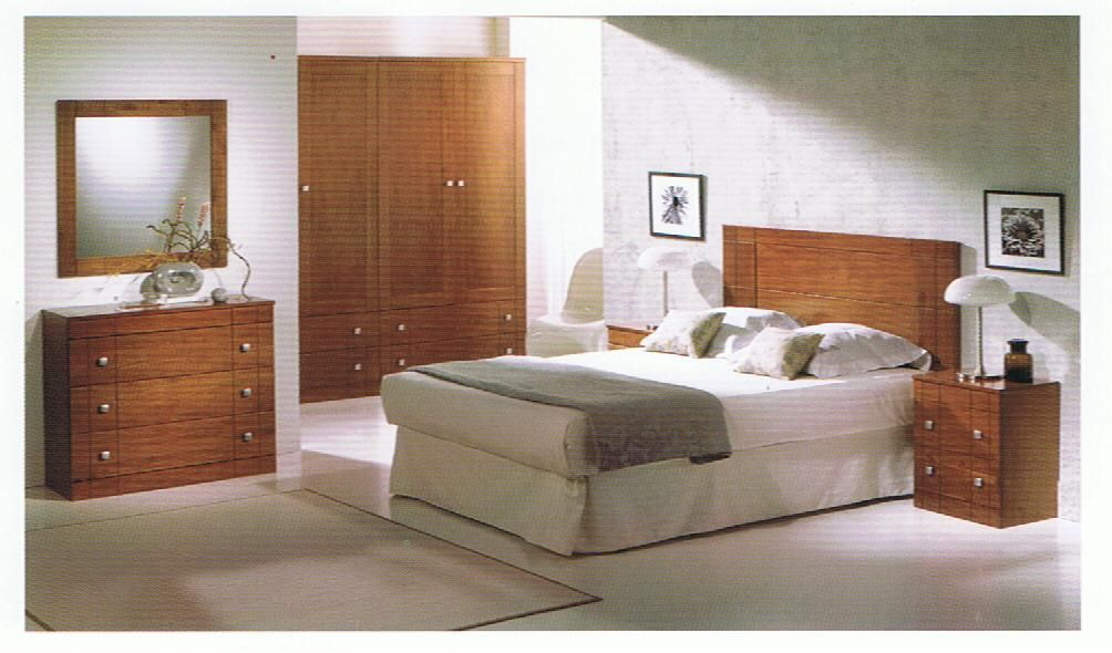 Dormitorio Matrimonio Madera Maciza N1 | Dormitorios matrimonio ...