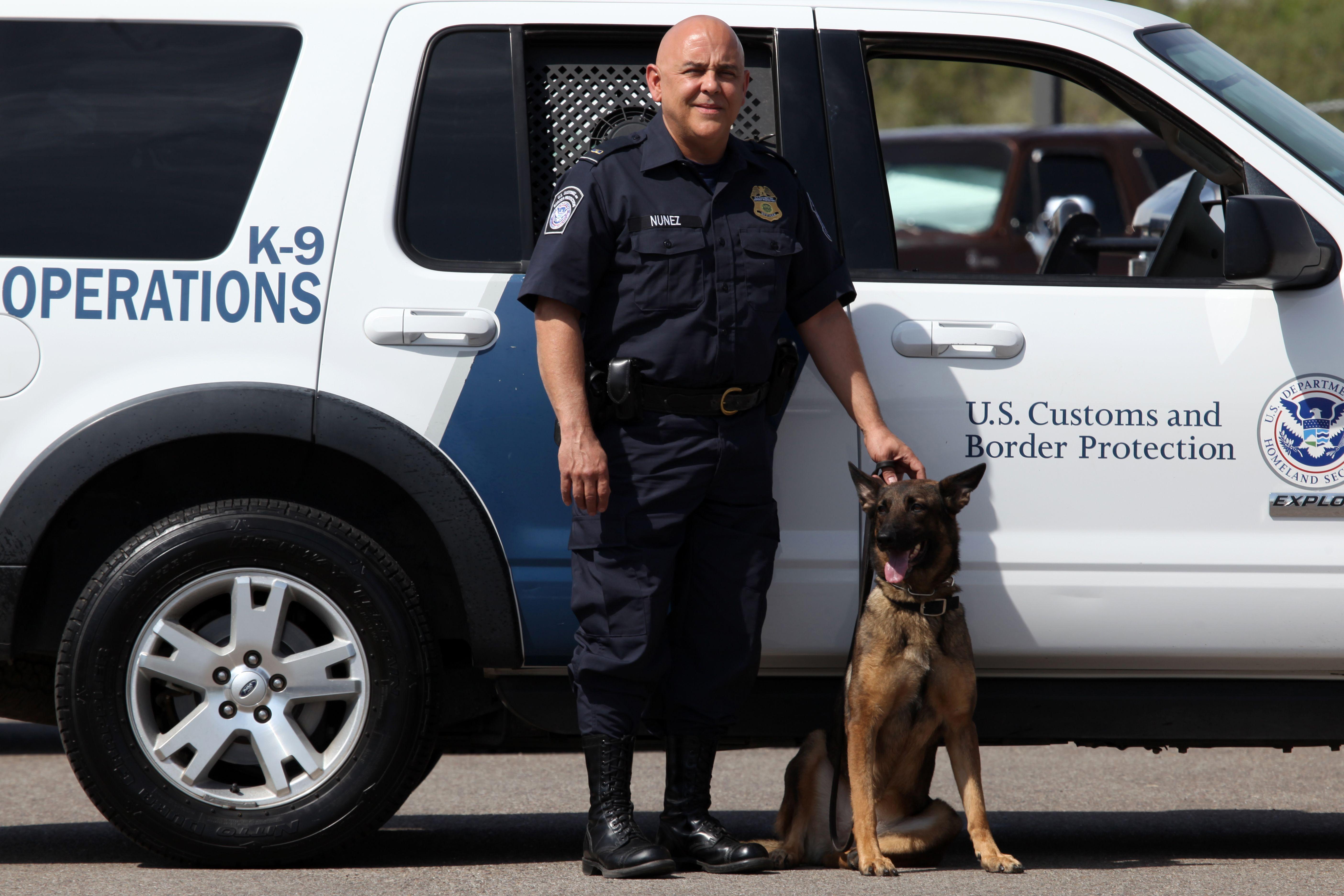 a rare and generous donor an ima and cbp canine enforcement officer hugo nunez and cbp officer job description