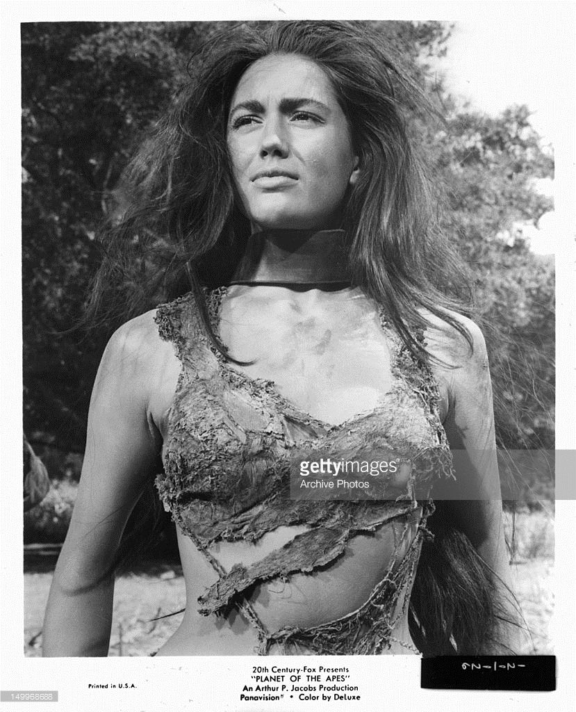 Linda Harrison As Nova Planet Of The Apes 1968 And Beneath The