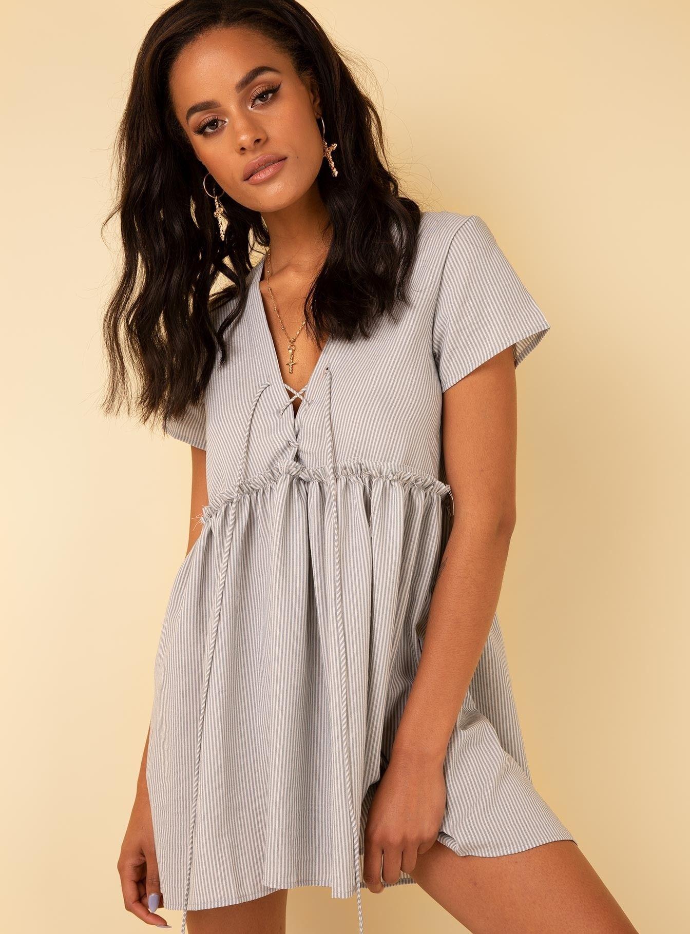 Maritimo mini dress blue blue dresses blue dress casual