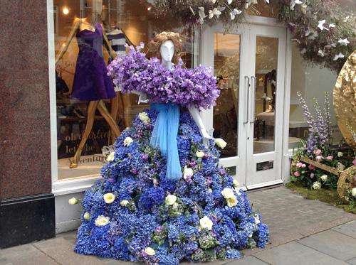 Cinderella Disney in Bloom, Chelsea Windows 2015