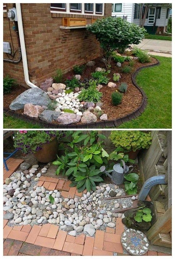 34 Gorgeous Front Yard Rock Garden Landscaping Ideas 34 Jardin