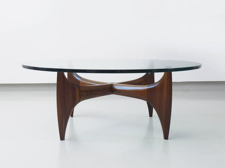 High Quality Brazilian Sculptural Coffee Table in Solid Jacaranda Wood en 2019 Products I Love