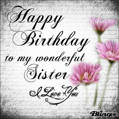 Happy Birthday Zusje