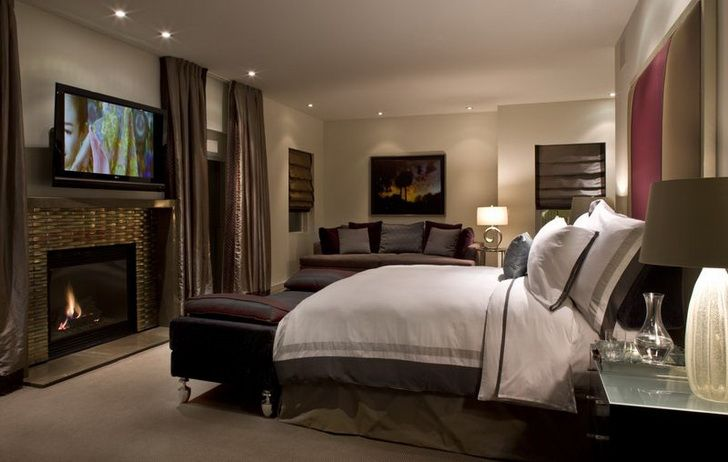 modern master bedroom with fireplace. Modern Master Bedroom With Fireplace | Ideas Pictures