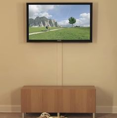 How To Hide TV Cables On The Wall This video shows you how to hide ...