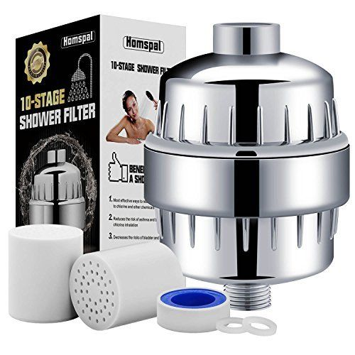 Aquabliss High Output Universal Shower Filter With Replaceable Multi Stage Filter Cartridge Chrom Water Softener Shower Head Shower Filter Best Shower Filter