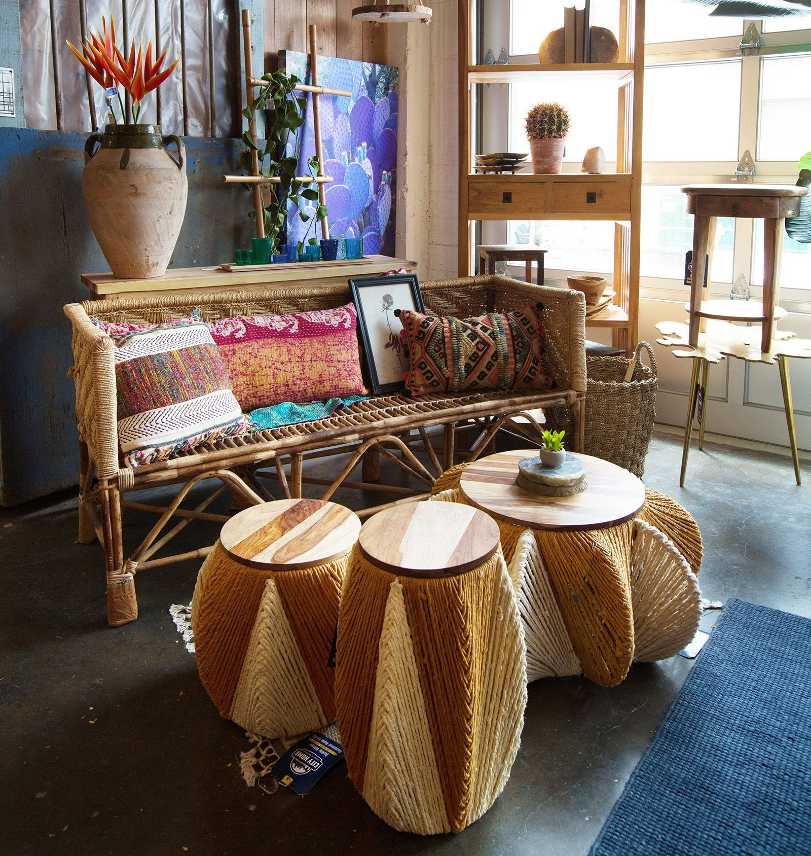Rattan And Tropical Wood Furniture Home Decor At City In Portland Oregon