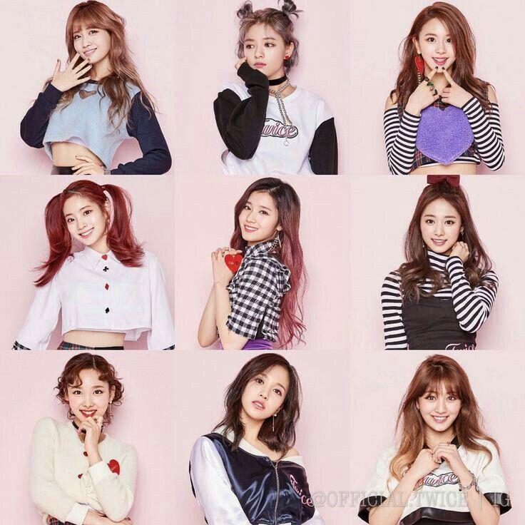 Twice KNOCK KNOCK   Корейская мода, Моя любовь, Инстаграм