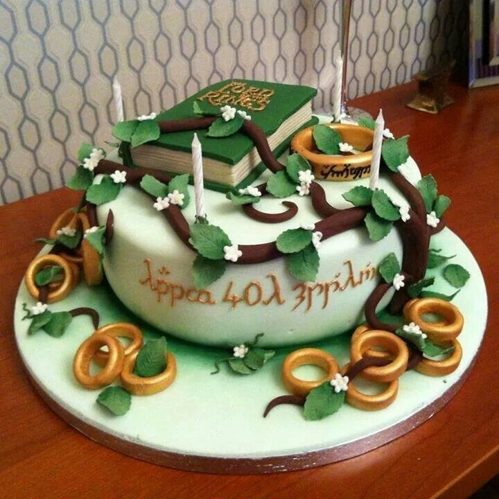 beautiful lord of the rings cake middle earth cakes. Black Bedroom Furniture Sets. Home Design Ideas