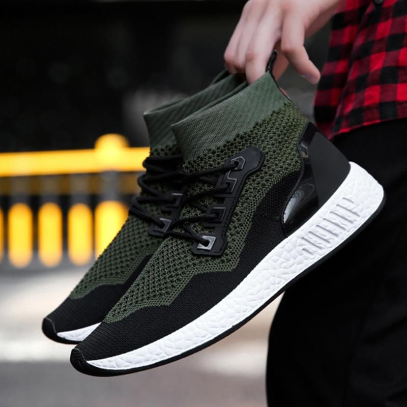 95d56ae4620 Soft Sole Sneakers Breathable Mesh Shoes in 2019 | FootWear ...