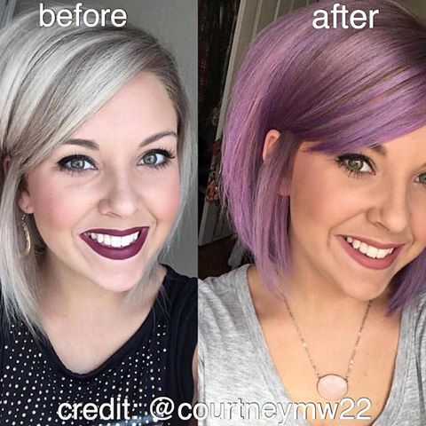Image Result For Viral Shampoo Before And After Purple Hair Viral Shampoo Color Shampoo