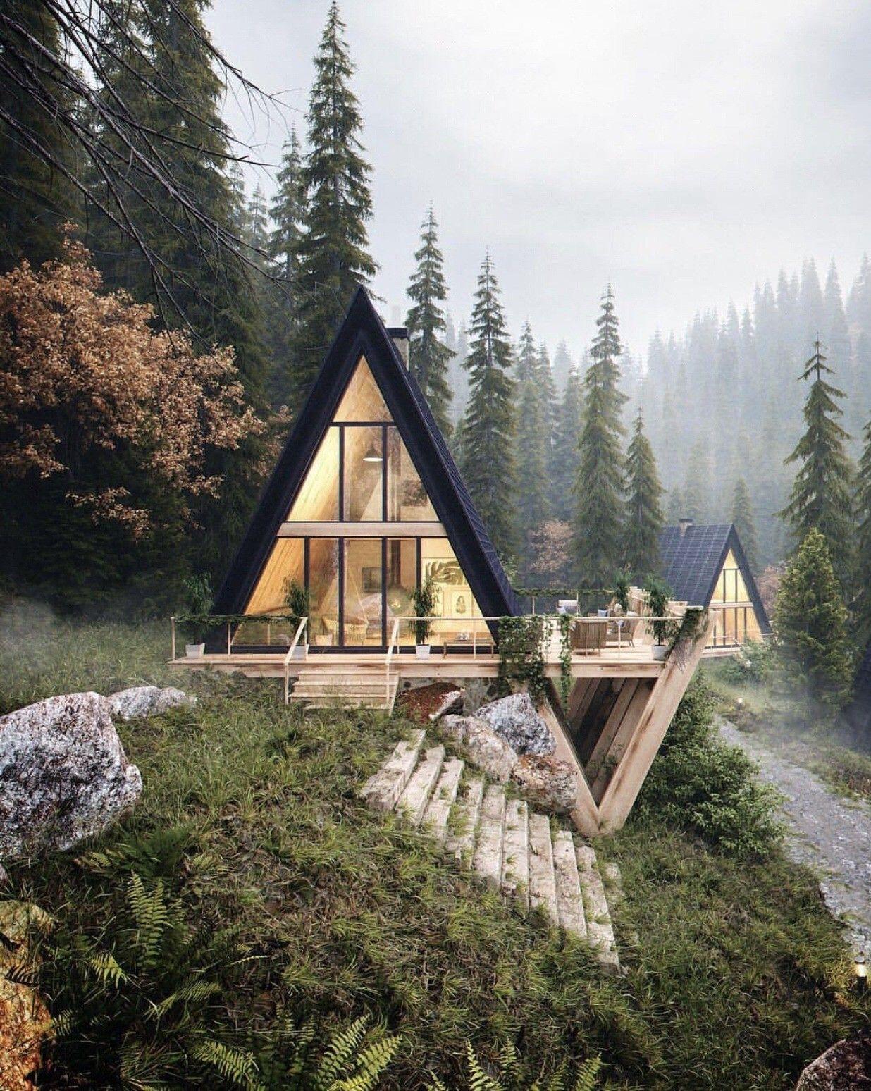Pin By Ich Liebe Deutschland On Wooden House Cabin A Frame