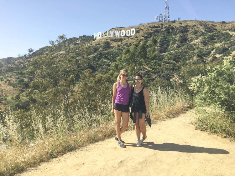 The Best View Of The Hollywood Sign Shannon Did What Travel Adventure Blog Hollywood Hike Hollywood Sign Hike Hollywood Sign