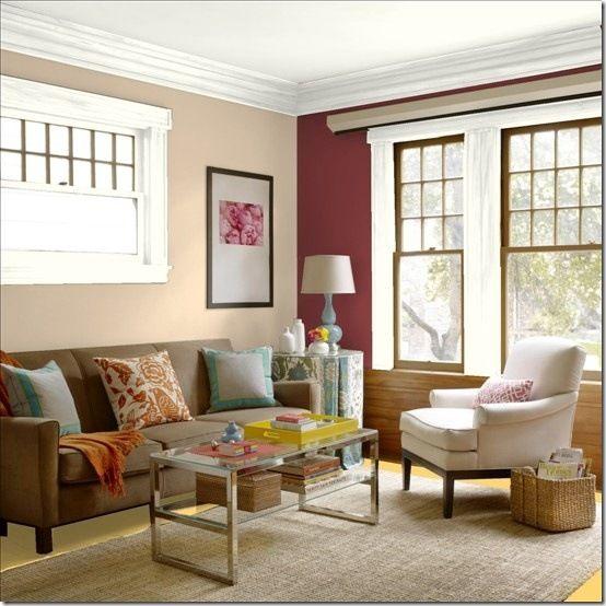 Benjamin Moore Colors For Your Living Room Decor: Benjamin Moore Bradstreet Beige HC-48