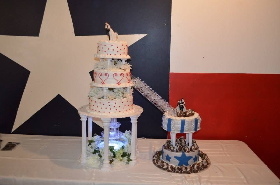 My Fountain Cake By Kim Pirtle Was Awesome Mixture With