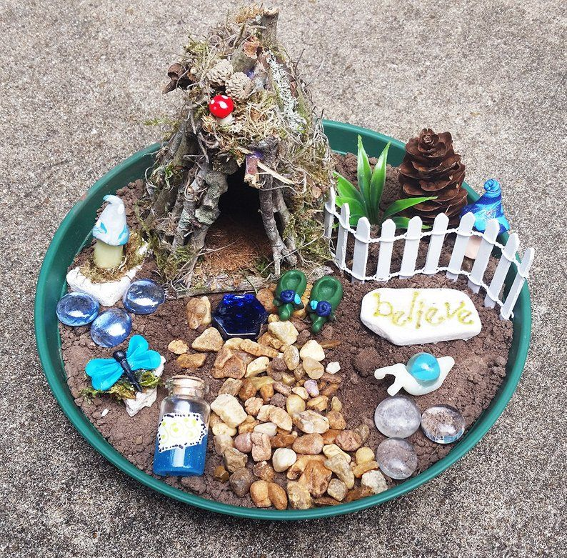 Fairy House Kit Fairy Garden Kit Fairy Garden Accessories Fairy