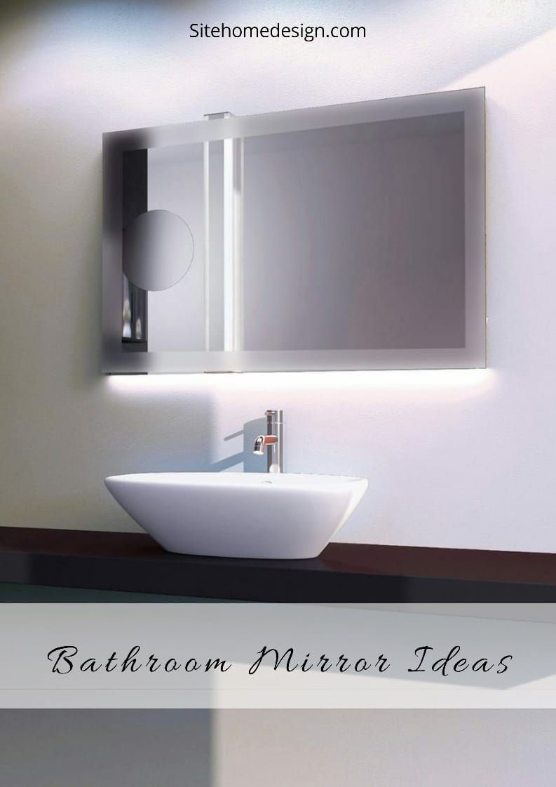 21 Bathroom Mirror Ideas You Might Not Have Thought Of Backlit