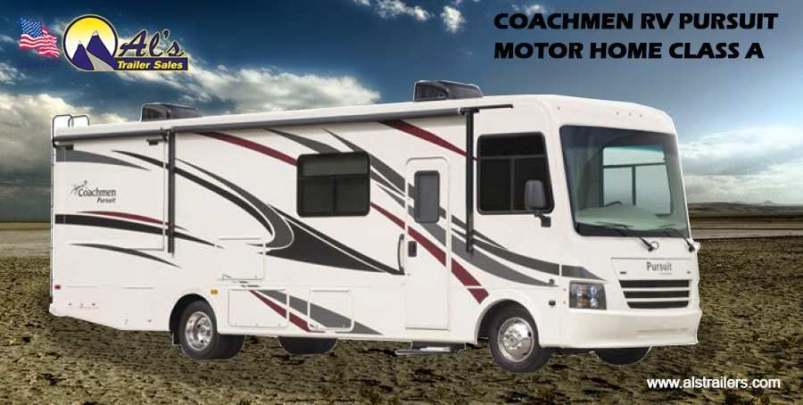 Come fall in love with coachmen rv pursuit motor home