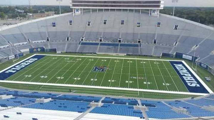 Photo Gallery Of Liberty Bowl Memorial Stadium Home Of The Memphis Tigers Liberty Bowl Memphis Football Memphis Tigers Football