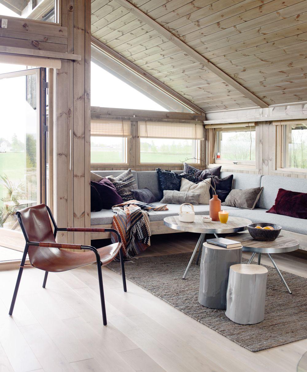 Opprinnelig Hjemmelaget sofa Stort fotogalleri av interiør og innredning fra NB-21