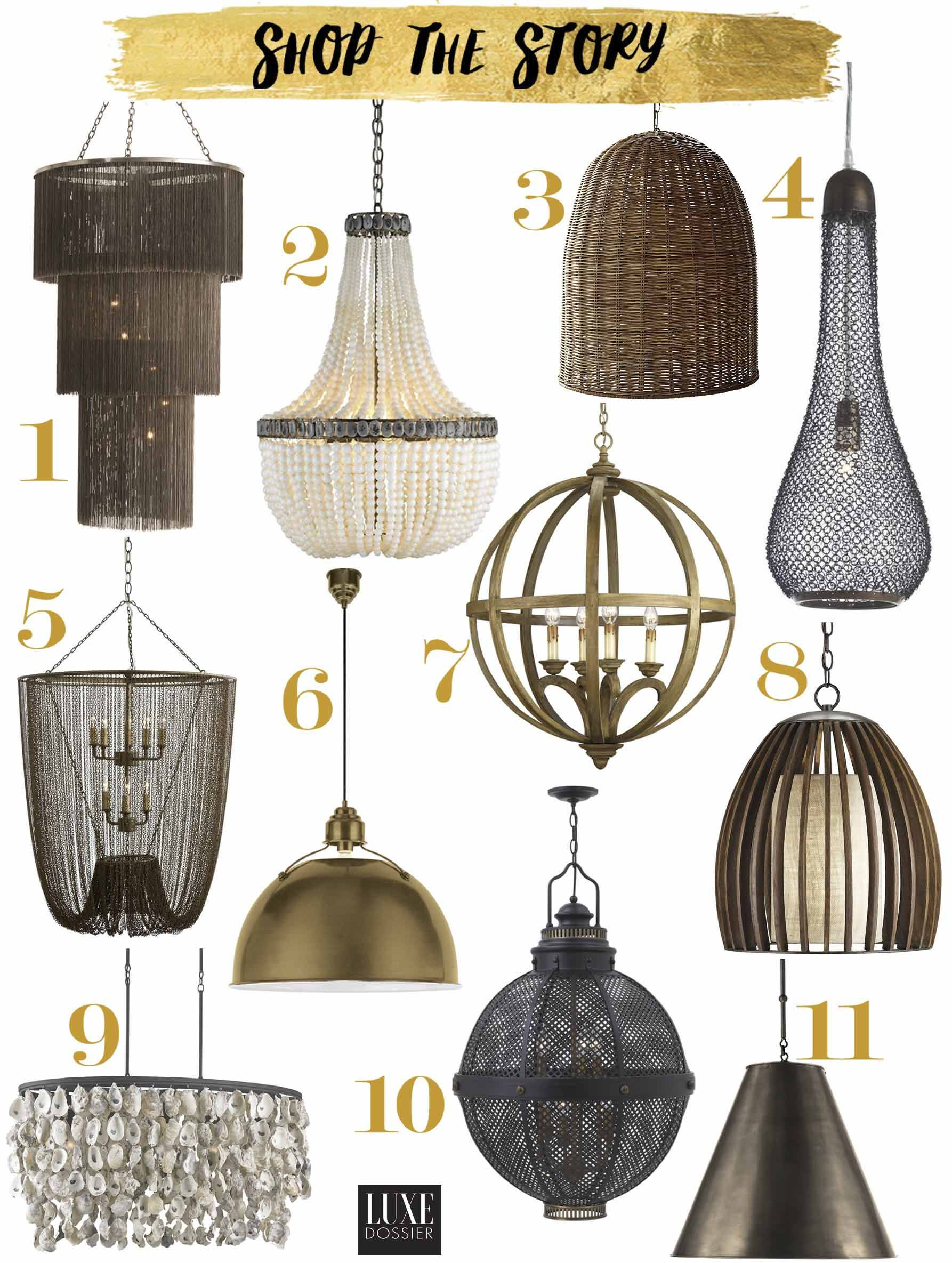 Light Fixtures Inspired By The Lighting At The Sirai House In