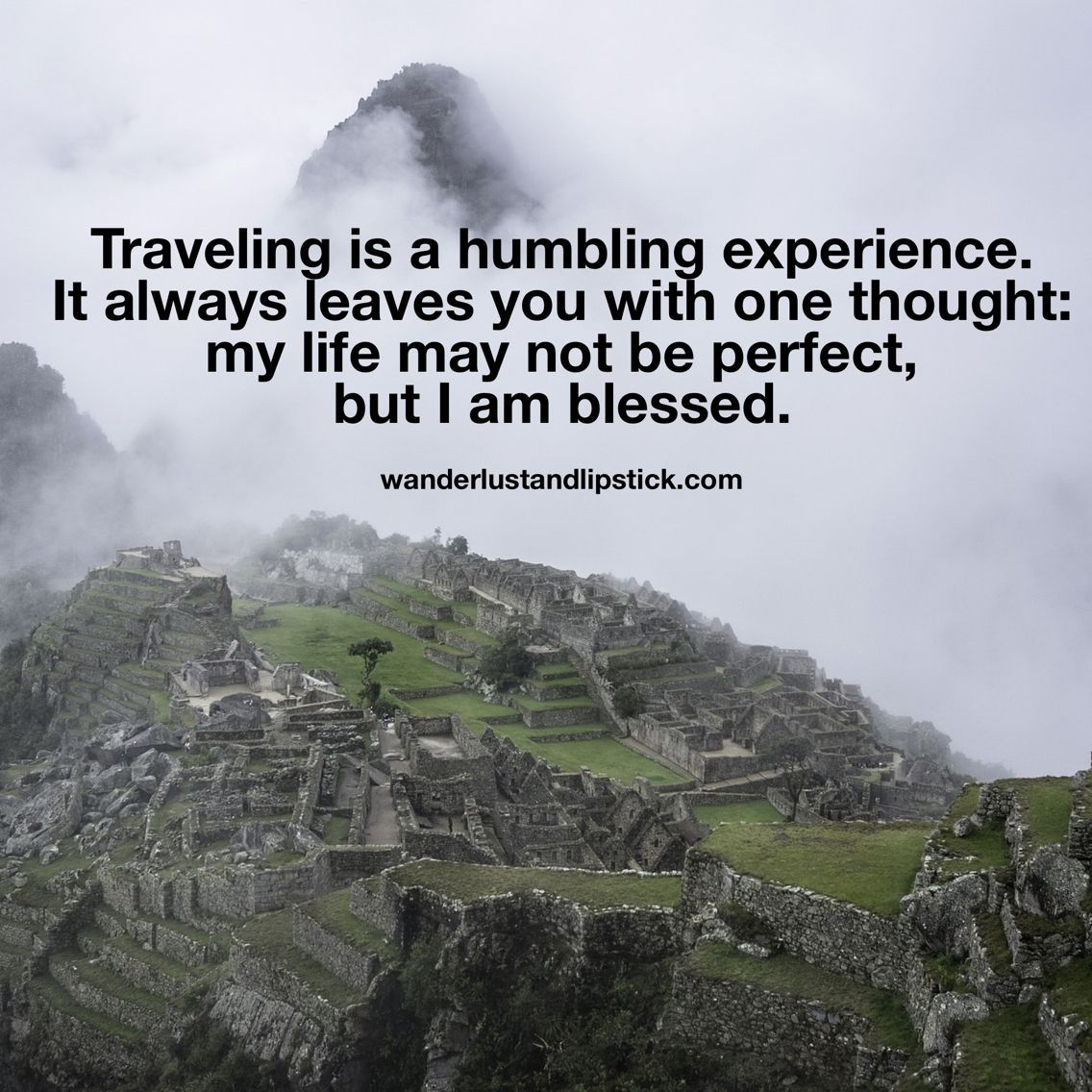 Quotes About Experience And Travel: Traveling Is A Humbling Experience
