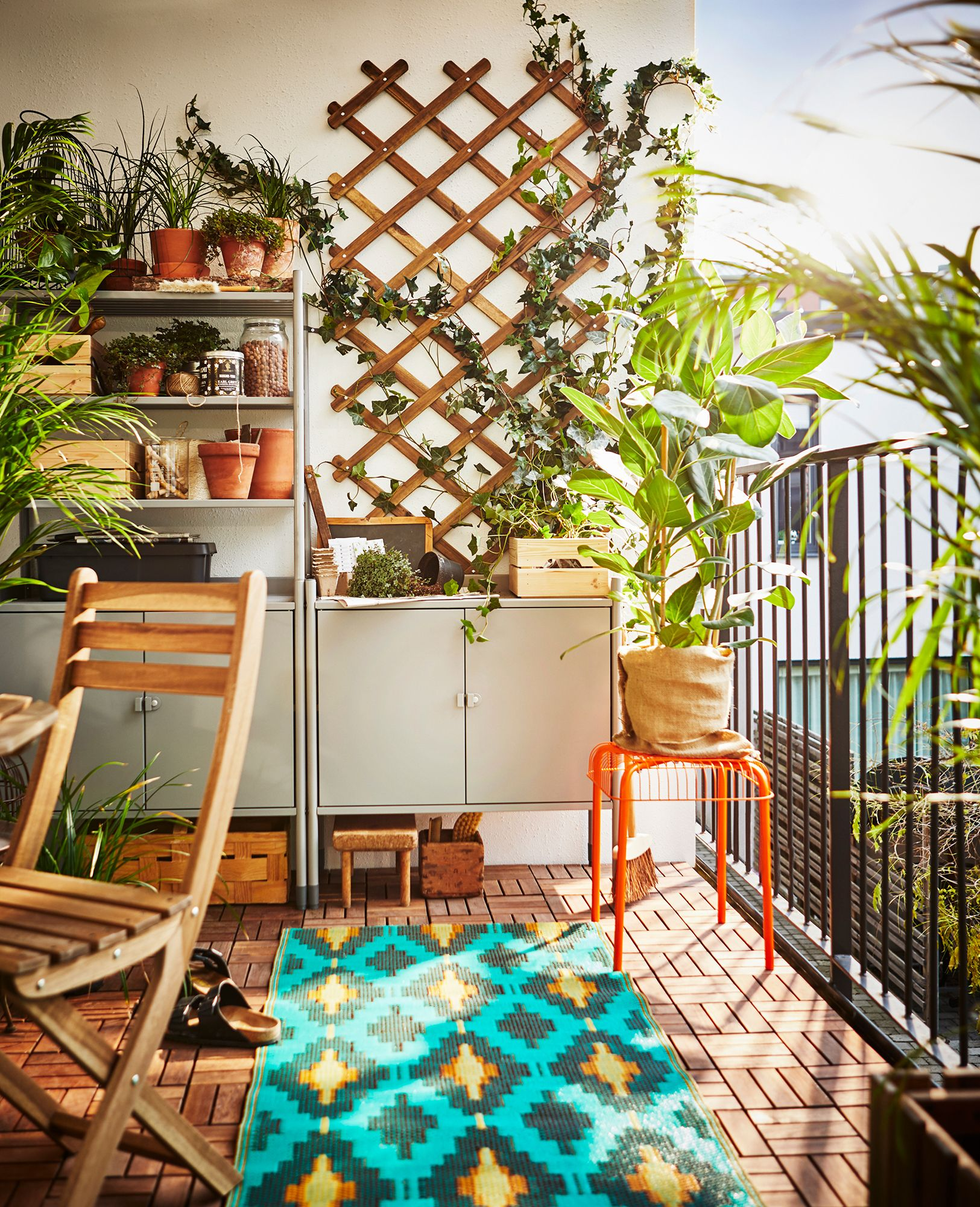 Create an oasis no matter how small your space is ikea australia outdoor living makeover