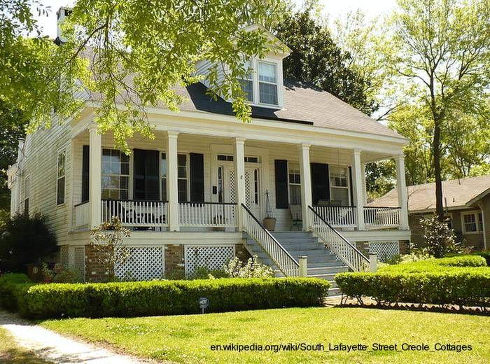 Arquitectura De Casas Mansion Victoriana Creole Cottage Cottage Cottage Style Homes