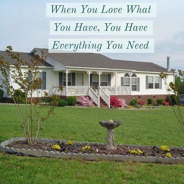 Mobilehome Decorating: @MobileHomeLvng Posted To Instagram: When You Love What