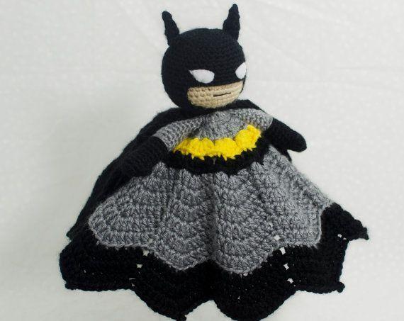 Batman lovey, crochet security blanket #crochetsecurityblanket Batman lovey crochet security blanket von AdventuresInYarnia #crochetsecurityblanket Batman lovey, crochet security blanket #crochetsecurityblanket Batman lovey crochet security blanket von AdventuresInYarnia #crochetsecurityblanket