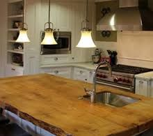 Image result for live edge countertops