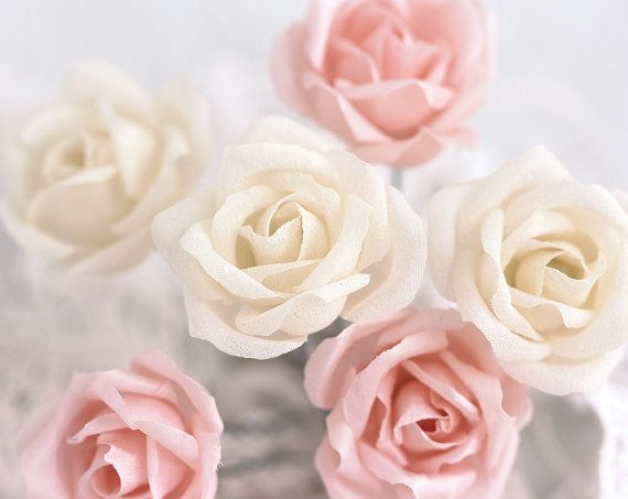how to make fabric roses for hair