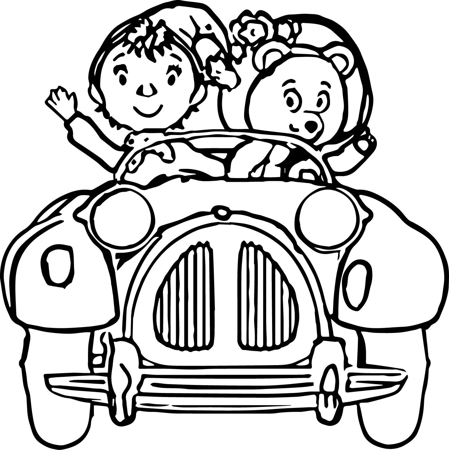 Cool Noddy Cartoon Coloring Pages Check More At