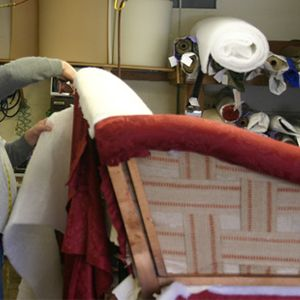 Re-upholstering