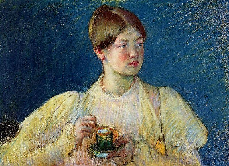 Mary Cassatt - A Cup of Tea