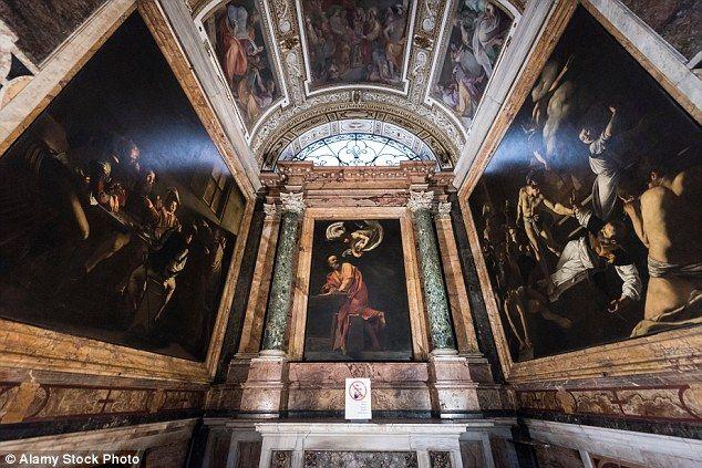 Caravaggio Contarelli Chapel