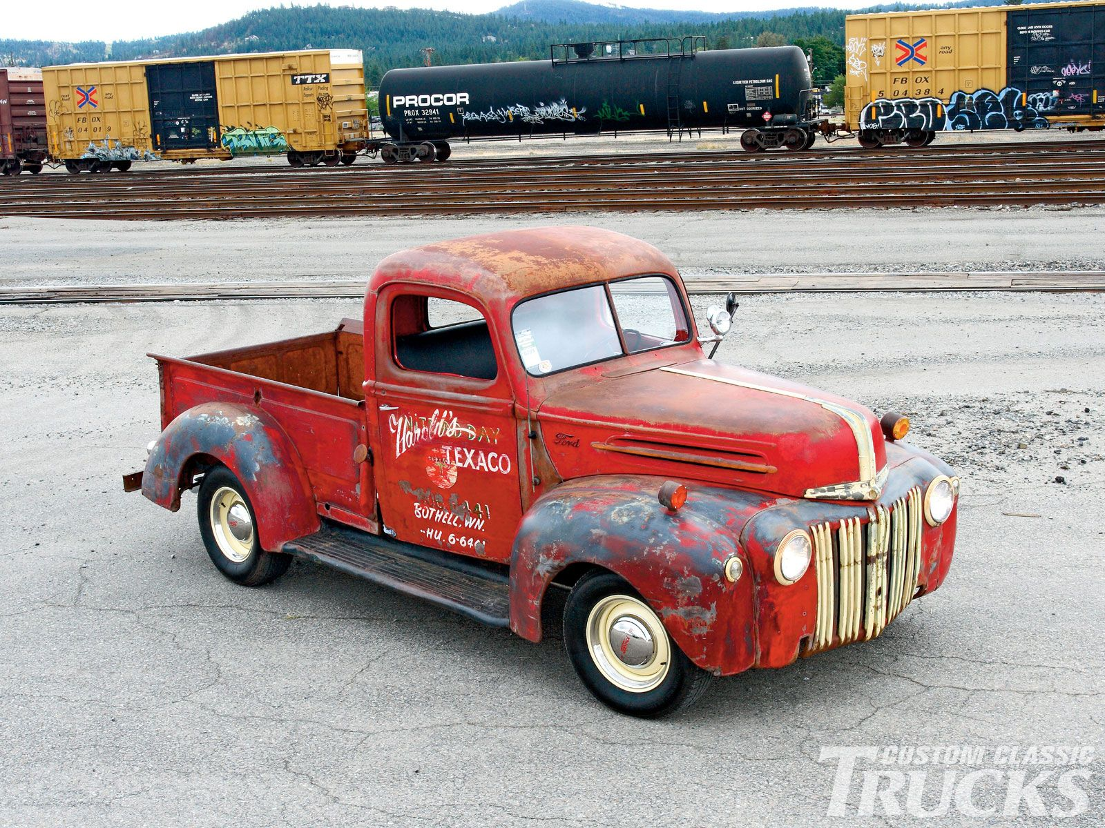 classic ford pickup truck   Project shop truck   Pinterest ...