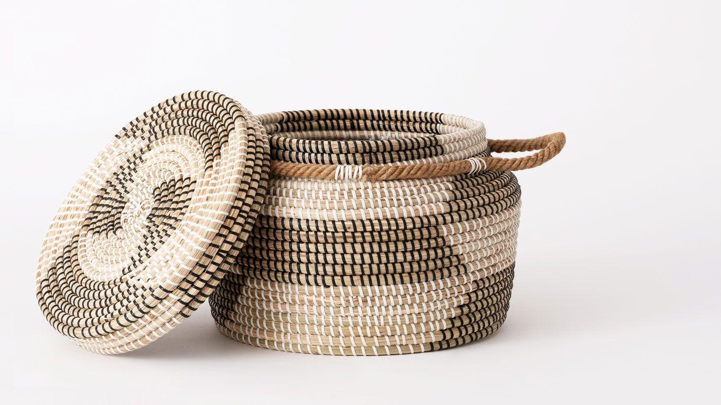 Nomad basket eq eq collection in pinterest