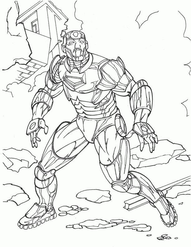 Iron Man Kleurplaten 16 Iron Man Coloring Pages Comic Books Illustration