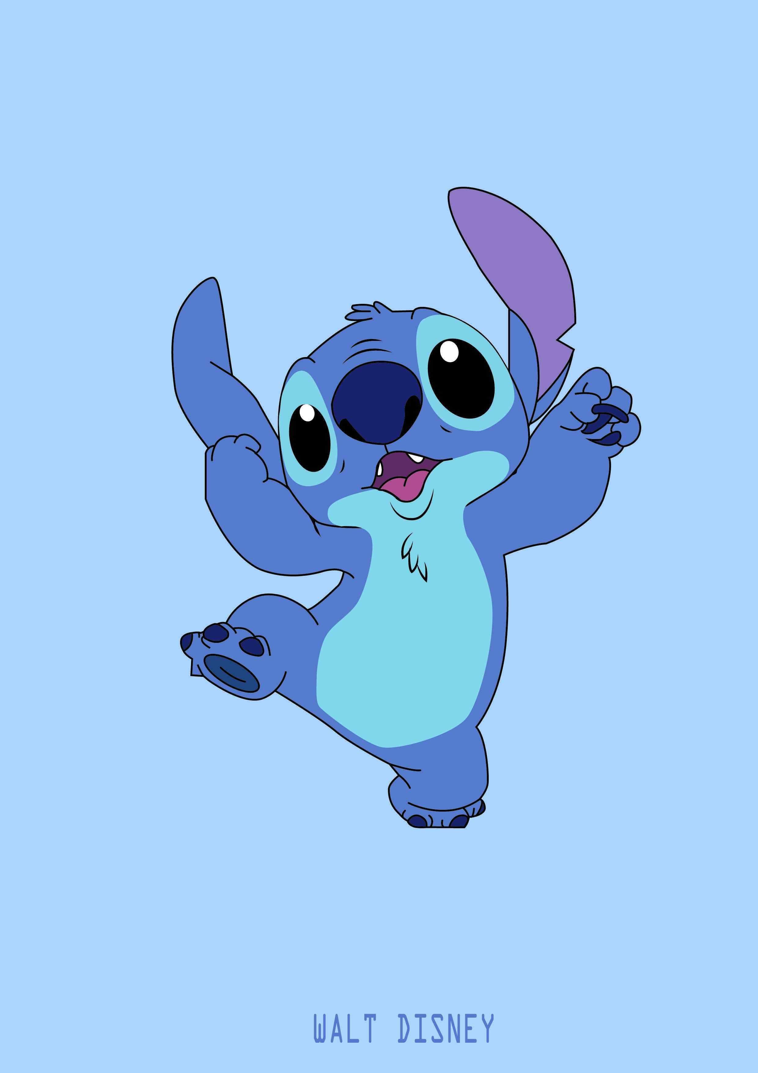 Fond Decran Kawaii Disney Stitch 2020 Cliquez ici