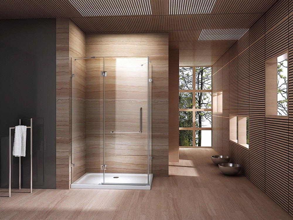 Glazen douchecabine op maat badkamer oase inspiratie
