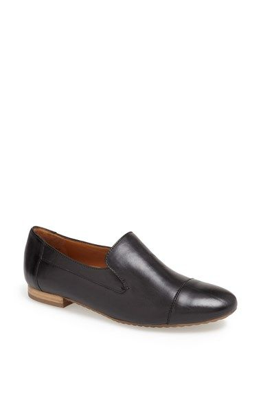 d946742e60f Free shipping and returns on Paul Green  Vince  Flat at Nordstrom.com. A  pieced leather loafer with a rich