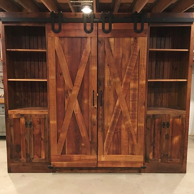 Delightful Furniture From The Barn Created Another Awesome Cabinet. This One Is  Reclaimed Pine Finished With