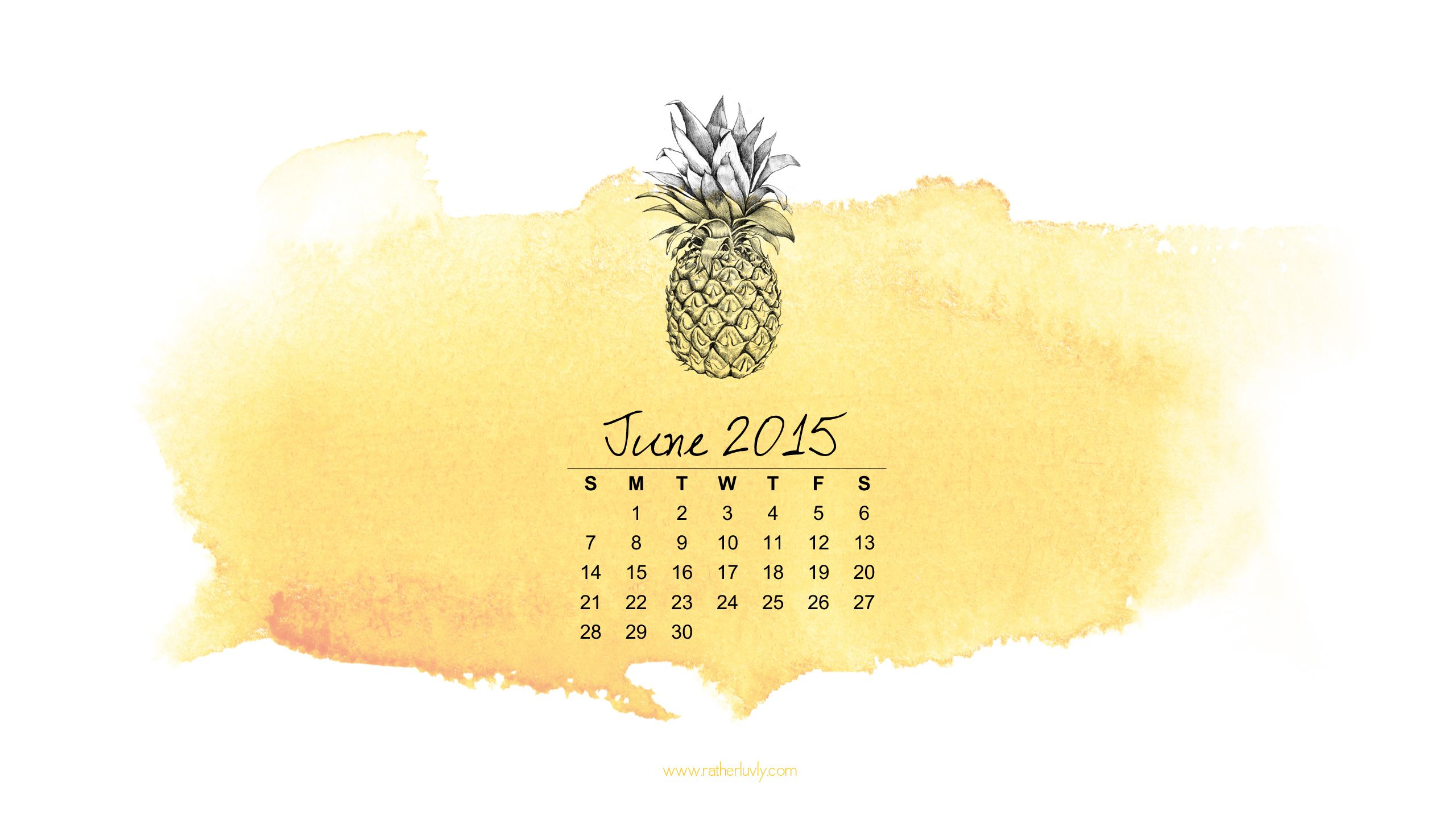 free download june 2015 desktop calender wallpaper