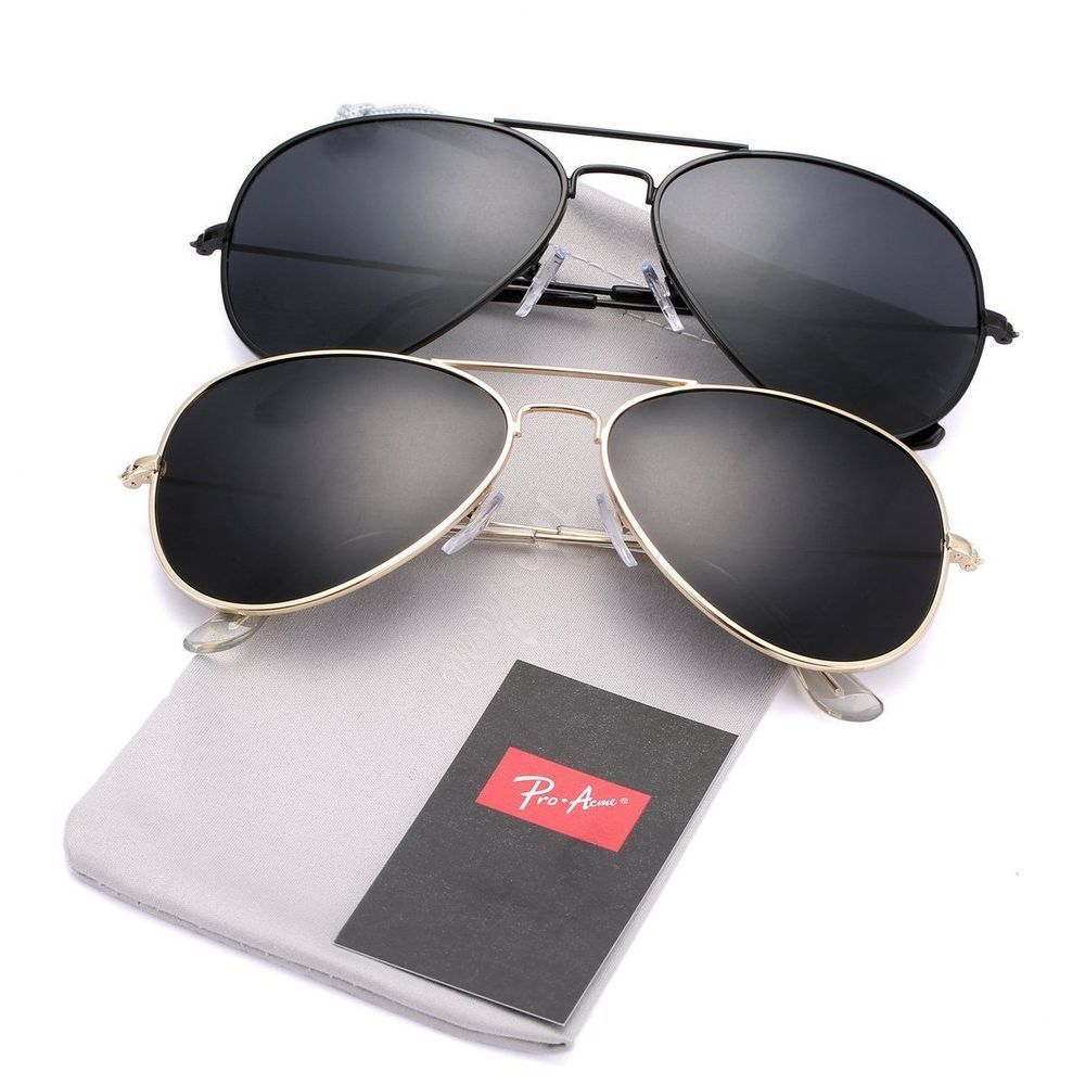 65118591d85 Pro Acme Classic Polarized Aviator Sunglasses for Men and Women UV400  Protection  fashion  clothing  shoes  accessories  mensaccessories ...